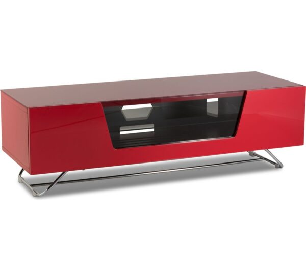 ALPHASON Chromium 2 1200 TV Stand - Red, Red