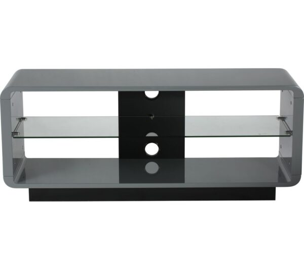 ALPHASON Luna 1200 TV Stand - Grey, Grey