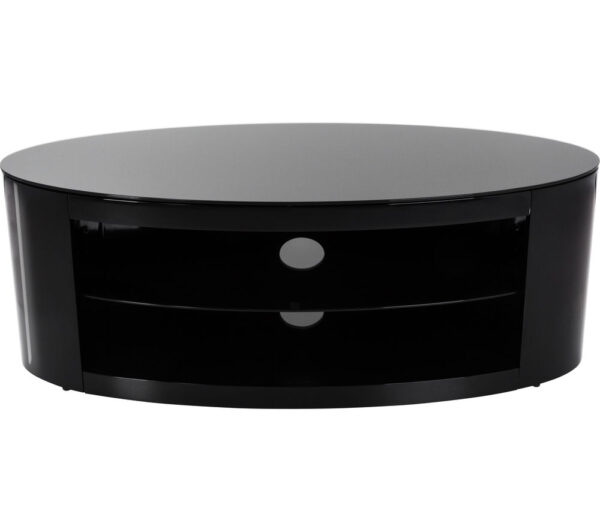 AVF Buckingham 1100 TV Stand - Black, Black