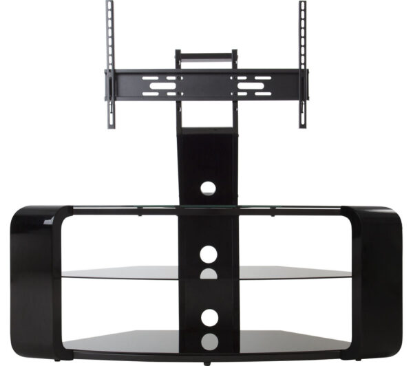 AVF Como FSL1174COB TV Stand with Bracket - Black, Black