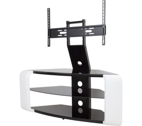 AVF Como FSL1174COGW TV Stand with Bracket - White, White