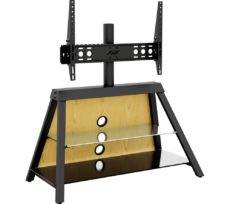 AVF Easel 925 mm TV Stand with Bracket - Black, Black