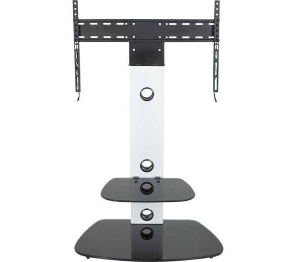 AVF Lugano FSL700LUCS TV Stand with Bracket - White, White