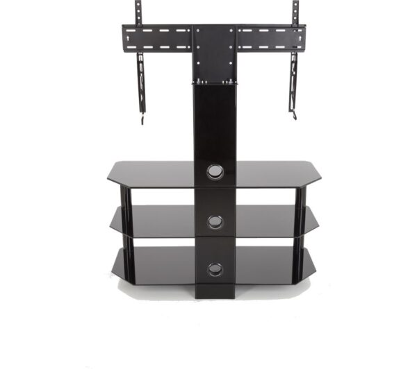 AVF SDCL900BB 900 mm TV Stand with Bracket - Black, Black