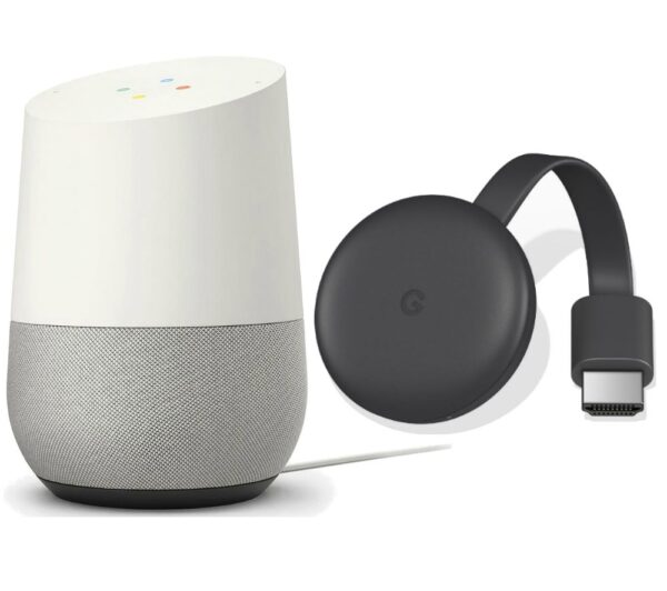 GOOGLE Home & Chromecast Bundle