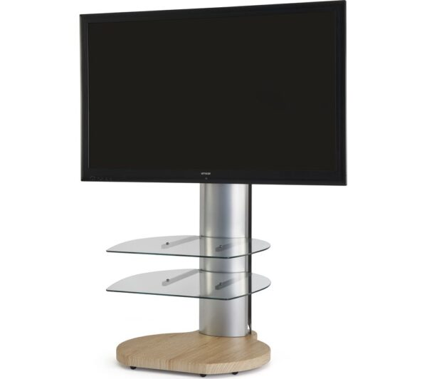 OFF THE WALL Origin II S4 1080 mm TV Stand with Bracket - Oak