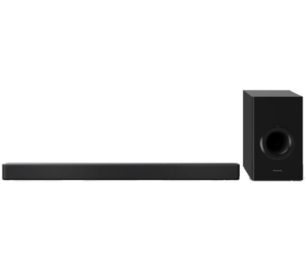 PANASONIC SC-HTB688EBK 3.1 Wireless Sound Bar, Silver