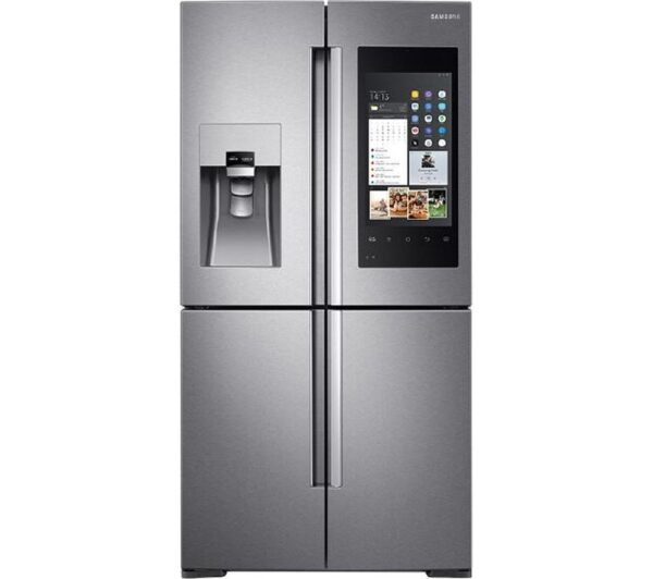 SAMSUNG Family Hub American-Style Smart Fridge Freezer Real Stainless RF56M9540SR/EU