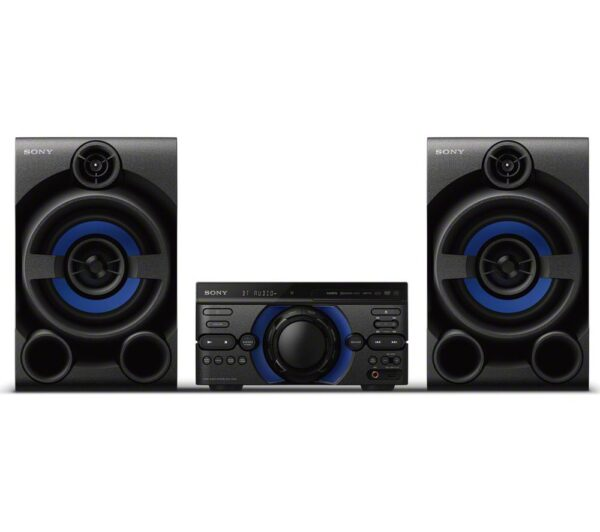 SONY MHC-M20D Bluetooth Traditional Hi-Fi System - Black, Black