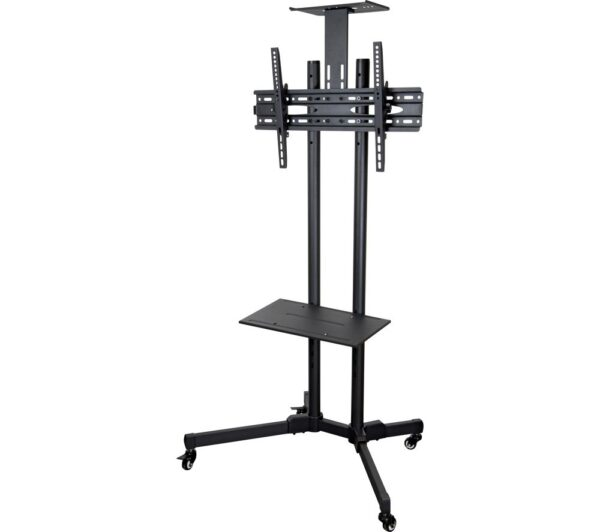 THOR 28092T TV Stand with Bracket - Black, Black
