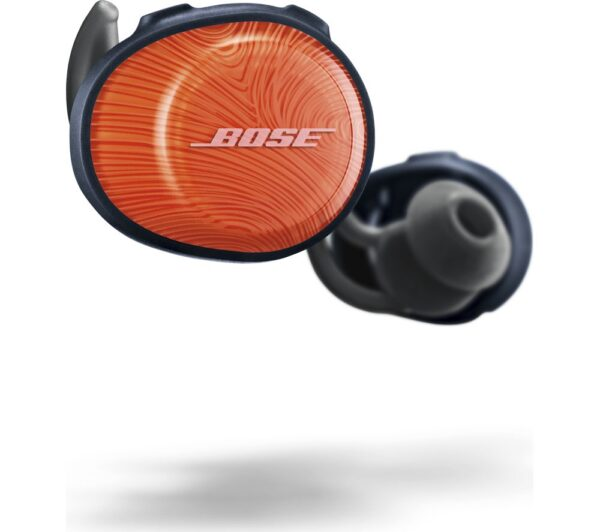 BOSE SoundSport Free Wireless Bluetooth Headphones - Orange & Blue, Orange