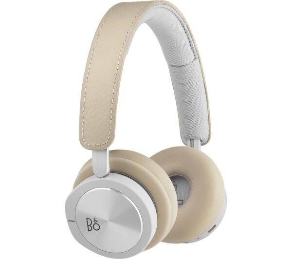 B&O B&O H8i Wireless Bluetooth Noise-Cancelling Headphones - Natural