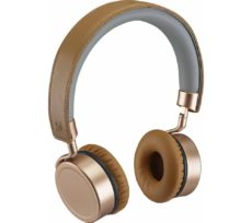 GOJI Collection GTCONRG18 Wireless Bluetooth Headphones - Rosegold