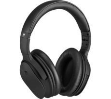 GOJI GTCBTNC18 Wireless Bluetooth Noise-Cancelling Headphones - Black, Black