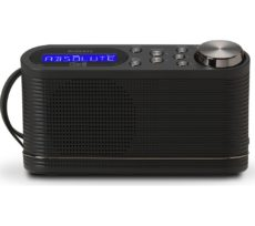 ROBERTS PLAY10 Portable DAB� Radio - Black, Black