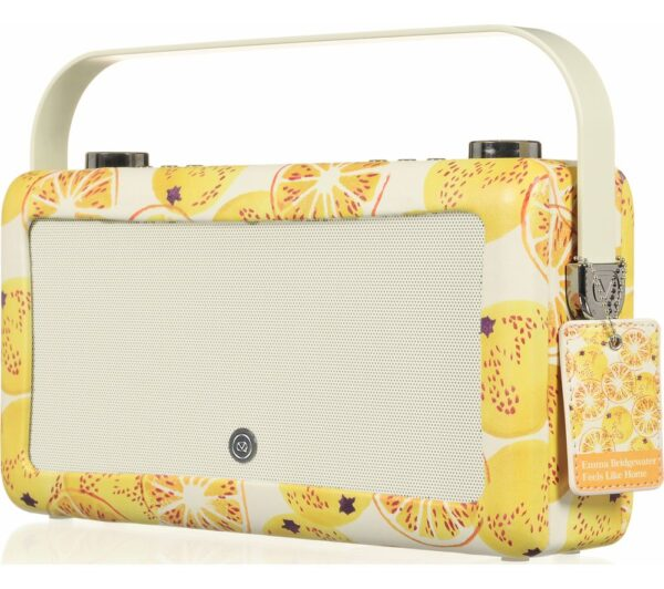 VQ by Emma Bridgewater VQ Hepburn Mk II Portable DAB� Bluetooth Clock Radio