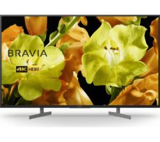"SONY BRAVIA KD43XG8196BU 43"" Smart 4K Ultra HD HDR LED TV with Google Assistant, Green"