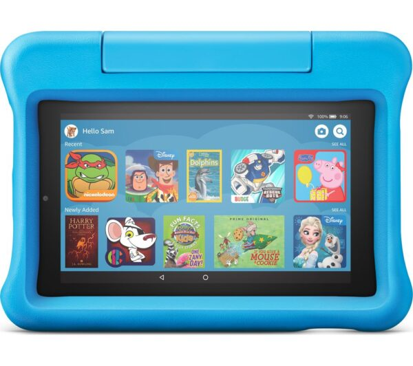"AMAZON Fire 7"" Kids Edition Tablet (2019) - 16 GB, Blue, Blue"