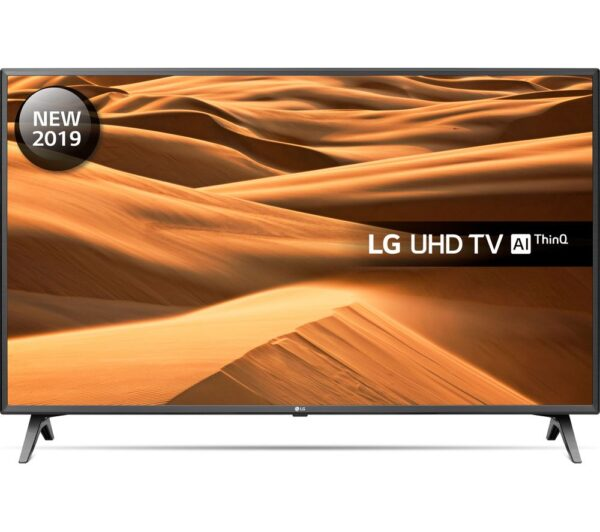 "LG 43UM7500PLA 43"" Smart 4K Ultra HD HDR LED TV with Google Assistant"