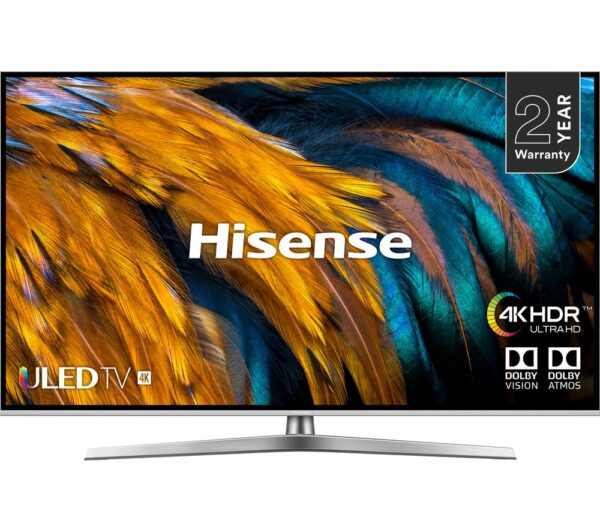 "50"" HISENSE H50U7BUK Smart 4K Ultra HD HDR LED TV"