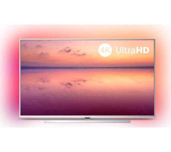 "55"" PHILIPS Ambilight 55PUS6814/12 Smart 4K Ultra HD HDR LED TV with Amazon Alexa"