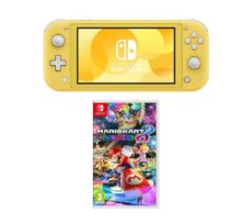 Nintendo Switch Lite & Mario Kart 8 Deluxe Bundle - Yellow, Yellow