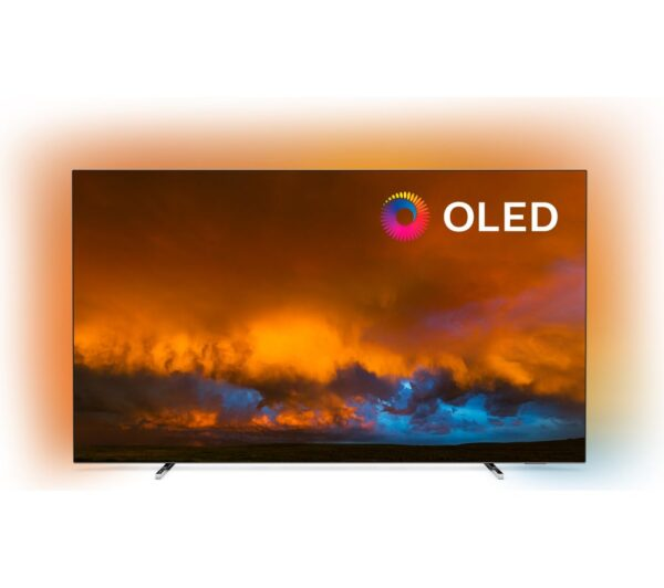 "55"" PHILIPS 55OLED804/12 Smart 4K Ultra HD HDR OLED TV with Google Assistant"