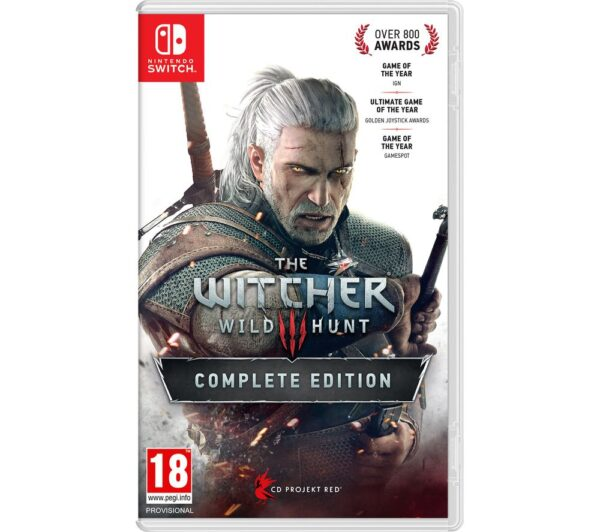 NINTENDO SWITCH The Witcher 3: Wild Hunt - Complete Edition, Stone