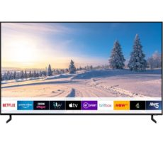 "55"" SAMSUNG QE55Q950RBTXXU Smart 8K HDR QLED TV with Bixby, Red"