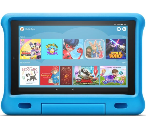 "AMAZON Fire HD 10"" Kids Edition Tablet (2019) - 32 GB, Blue, Blue"