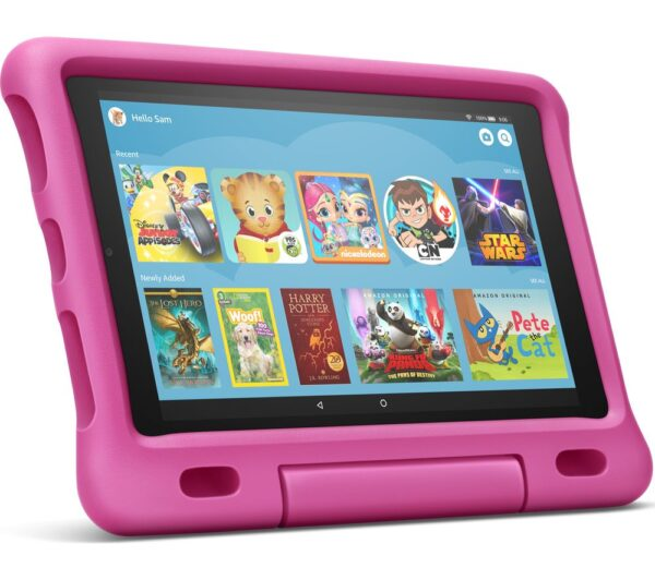 "AMAZON Fire HD 10"" Kids Edition Tablet (2019) - 32 GB, Pink, Pink"