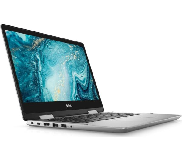 "DELL Inspiron 14 54912 14"" 2 in 1 Laptop - Intel® Core™ i3, 256 GB SSD, Silver, Silver"