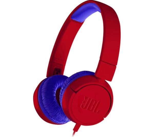 JBL JR300 Kids Headphones - Spider Red, Red