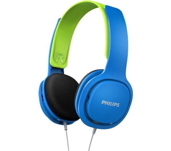 PHILIPS SHK2000BL/00 Kids Headphones - Blue, Blue