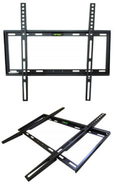400 x 400 Fixed TV Bracket 23-42 45kg Slim