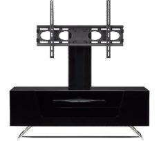 ALPHASON Chromium 2 Cantilever CRO2-1000BKT-BK 1000 mm TV Stand with Bracket - Black, Black