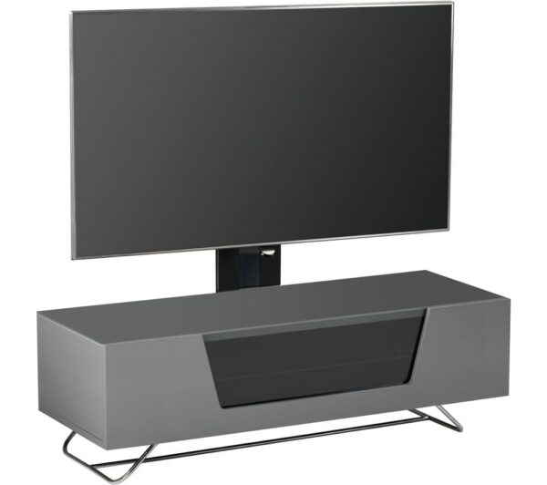 ALPHASON Chromium 2 Cantilever CRO2-1200BKT-GR 1200 mm TV Stand with Bracket - Grey, Grey