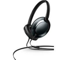 PHILIPS SHL4805DC Headphones - Black, Black