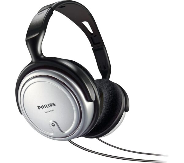 PHILIPS SHP2500 Headphones - Black, Black