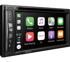 PIONEER AVIC-Z620BT Smart Bluetooth Car Radio with Sat Nav - Black, Full Europe Maps, Black