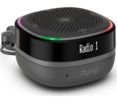 PURE StreamR Splash Portable DAB+/FM Bluetooth Radio - Charcoal, Charcoal