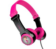 JLAB AUDIO JBuddies Folding Kids Headphones - Pink, Pink