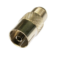 F Type Female to Coax Female Adapter
