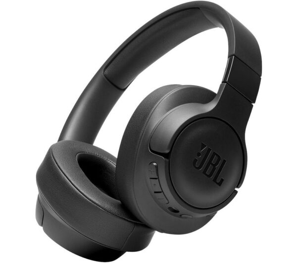 JBL Tune 750BTNC Wireless Bluetooth Noise-Cancelling Headphones - Black, Black