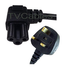 Right Angle Cloverleaf Power Cable 1.8m C5 90 Degree LG TV